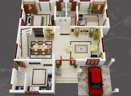 Small 2 Bedroom House Plans And Designs Small House Plan 3d Home Mesmerizing Home Design And Plans Home