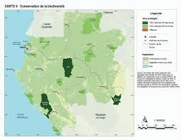 gabon in world map gabon conservation de la biodiversité world resources institute