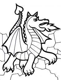 dragon coloring pages pixelpictart com