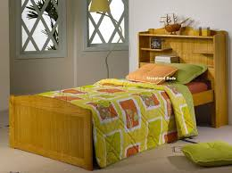 Bookcase Headboard Beds Single Bed With Bookcase Headboard 5396