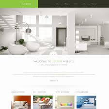 home interior website home decor website templates templatemonster