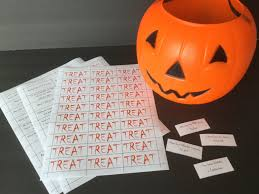 halloween trick or treat game classroom party game youth group
