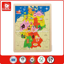 France Germany Map by Sale Germany Map Wooden Jigsaw Puzzle With Kinds Of Graphics