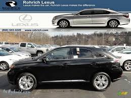 lexus rx black 2012 lexus rx 450h awd hybrid in stargazer black 432740