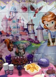 princess sofia birthday party ideas princesses