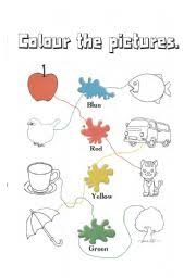 colour the pictures worksheet by sgdsfgdsfgdsf