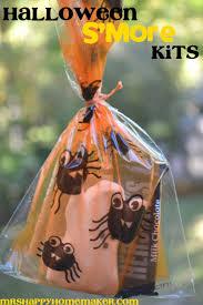 halloween s u0027mores kits u2013 mrs happy homemaker