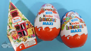 easter eggs surprises 2 kinder maxi eggs christmas with my pony and