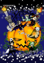 young halloween background gimp this time bleach and black butler u2022 young writers society