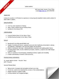 Resume For Cna Lpn Resume Example Winsome Lpn Resume Sample 15 Lpn Resume Sample