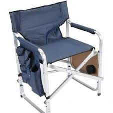 Folding Directors Chair With Side Table Aluminum Directors Chairs Open Travel