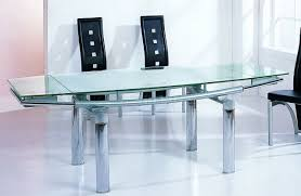 dt833 dining table by beverly hills w glass top