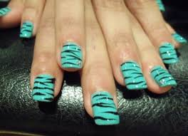 60 best zebra print nail art ideas