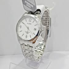 Jam Tangan Alba Putih jam tangan alba original pria axhl01 silver putih loyalwatch