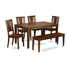 awesome dining room sets with bench seating best modern furniture