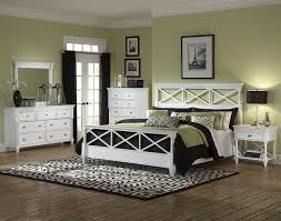 California King White Bedroom Sets California King Panel Bed With White Finish U0026 Open Fretwork By