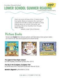 www find friends school lower school summer reading 2017