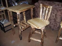 Barnwood Bar Stools Hand Made Custom Rustic Log And Reclaimed Barn Wood Bar Stools By