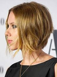 awesome bob haircuts photo gallery of scarlett johansson asymmetrical choppy bob