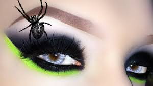 witch black widow halloween makeup tutorial how to