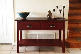 ana white my first build console table from