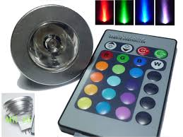 magic lighting remote mr16 rgb led lights 16 colors change