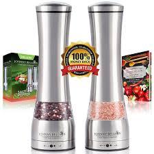 amazon com premium salt and pepper grinder set professional