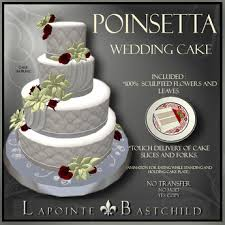 wedding cake sims 4 second marketplace sculpted wedding cake poinsettia merry