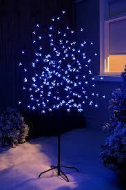 200 warm white christmas tree lights werchristmas 5 ft 1 5 m pre lit illuminated cherry blossom tree with
