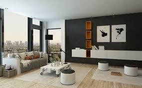 minimalist living room layout minimalist apartment living room decor grey brick wallpaper accent