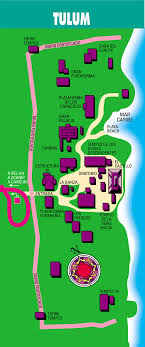 tulum map cancun mexico hotels and travel information