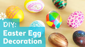 Easter Egg Decorate Games by 8 Cute U0026 Easy Diy Easter Egg Decorating Ideas Sea Lemon Youtube