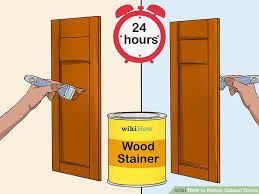 how to reface cabinet doors how to reface cabinet doors with pictures wikihow