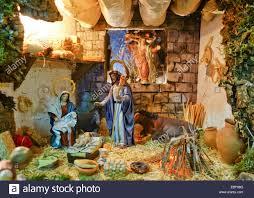 nativity scene of a belen bethlehem christmas spain crib jesus
