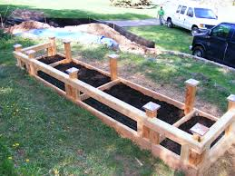 raised vegetable garden plans gardening ideas