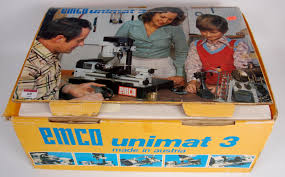 emco unimat 3 table top lathe milling machine contents