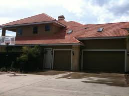 Red Roof In Pensacola by Islander Pro Wash Pressure Washing Low Pressure Roof Cleaning