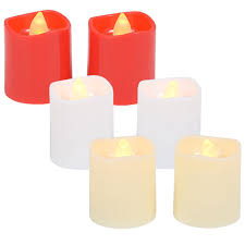 bulk battery operated led white votive candles 2 ct packs at
