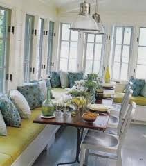 banquette table avec sunroom with seating and wooden ideas of