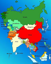 map of asai the 25 best map of asia ideas on south asia map east