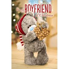 boyfriend 3d christmas card me to you tatty teddy bear christmas