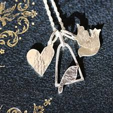 handmade charm necklace images Handmade silver charm necklace by jemima lumley jewellery jpg