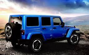 blue jeep closer look 2014 jeep wrangler polar edition photos the jeep