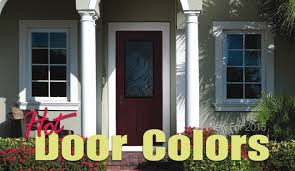 Front Door Colors For Gray House New Door Colors For 2015