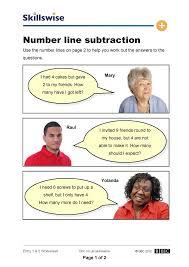 Number Line Subtraction Worksheets Ma01line E1 W Number Line Subtraction 752x1065 Jpg