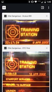 elite dangerous rift vs vive comparison photos oculus