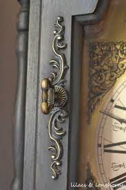 Emperor Grandfather Clock A Grandfather Clock Makeover And A Little History Lilacs And