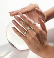3mm ring 3mm cabochon opal ring wendy nichol