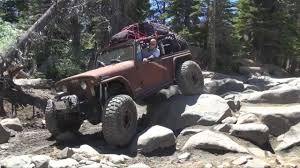 jeep commando custom ryan u0026 terra on the rubicon trail in the jeepster june 12 16