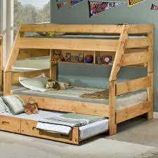 Trendwood Bunkhouse TwinFull High Sierra Bunk Bed Conlins - High bunk beds